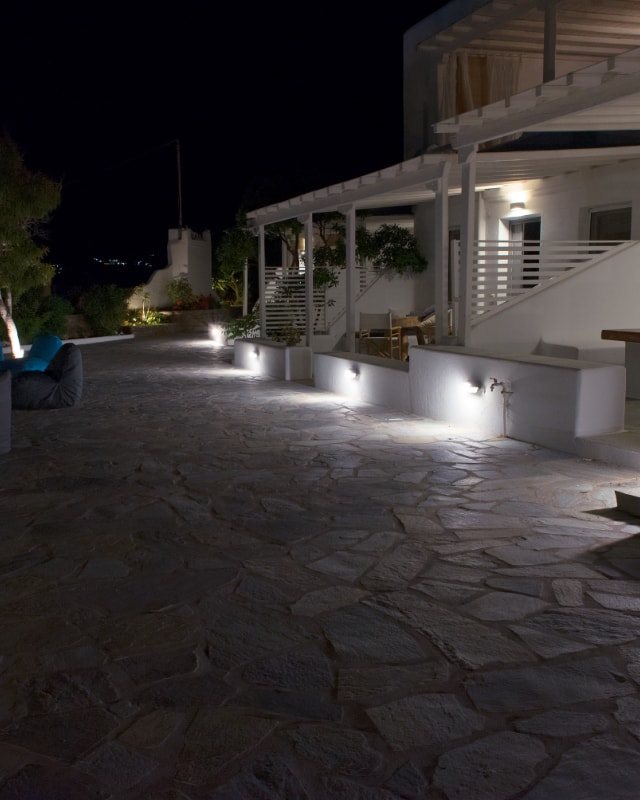 Bellou Suites at Night