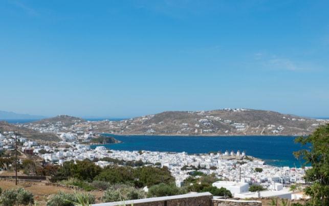 View of Mykonos | Bellou Suites