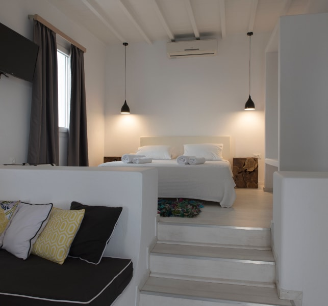 Modern Rooms | Bellou Suites